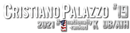 Cristiano Palazzo #1 Nationally-Ranked K, 19th-Ranked ATH, Top Colorado DB